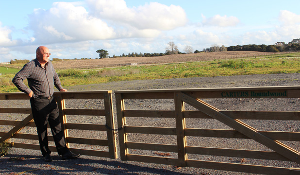 POTENTIAL: Papakura Pony Club vice-president Rudi Kats surveys the club's expected new home at Opaheke Reserve.