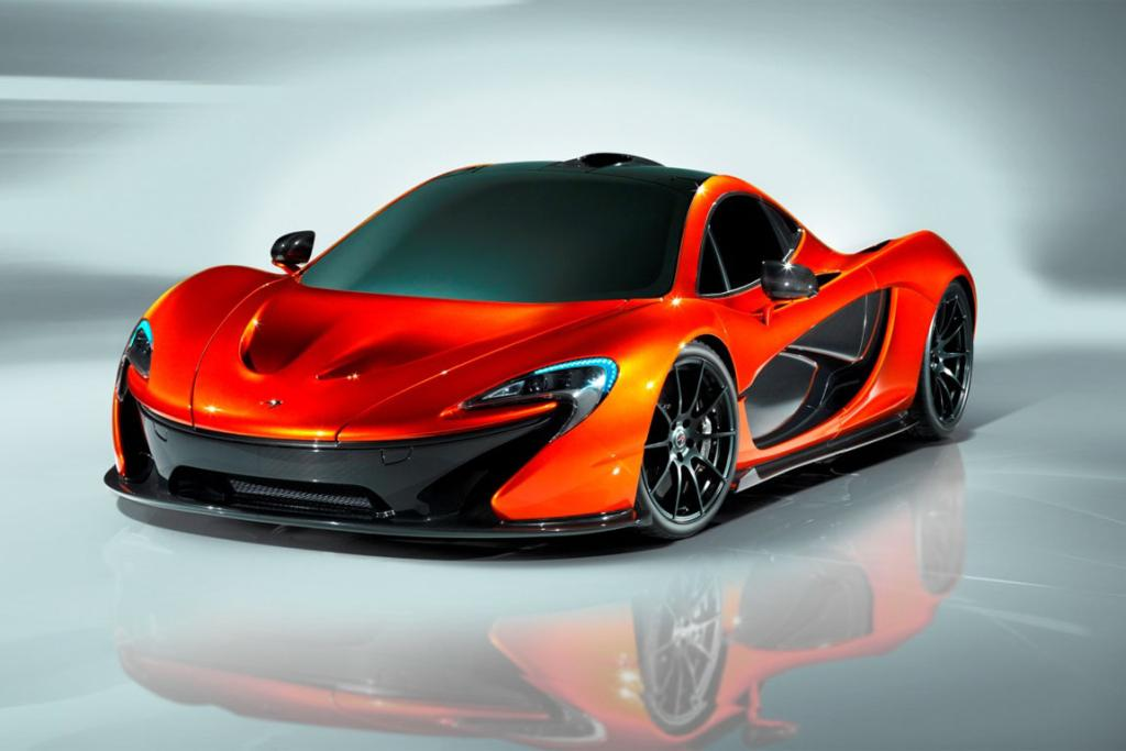 The new P1 from McLaren.