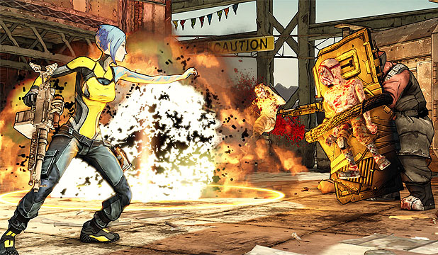OVER THE EDGE: Sci-fi looter-shooter Borderlands 2 is vastly superior to the original.