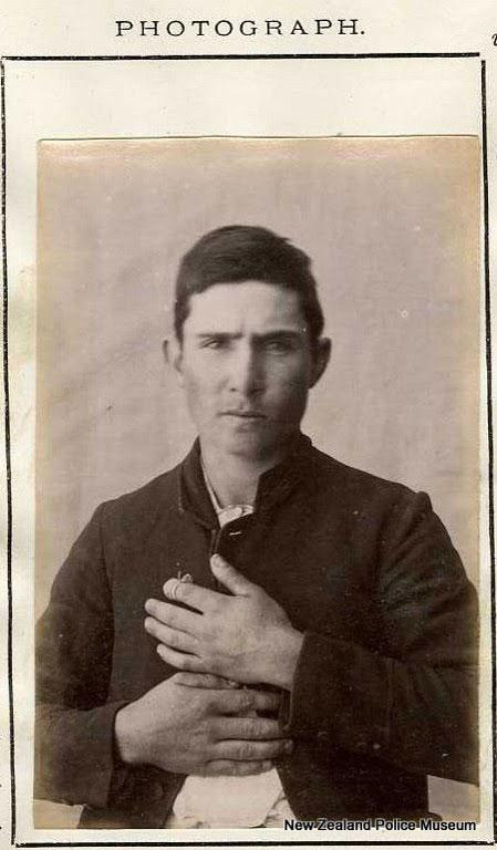 Walter James Kineaty, alias Howard/Head (b. 1889, Auckland, New Zealand). Charged with larceny and sentenced to 12 months on December 5, 1887.