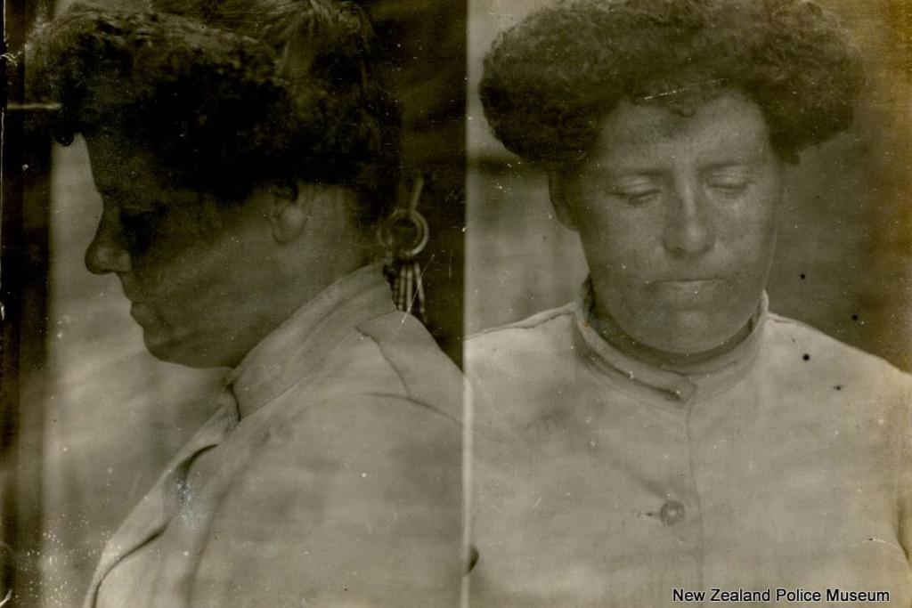 Jane O'Meara (b. 1879). Charged with brothel keeping and theft. Sentenced to four months in gaol on October 18, 1908.