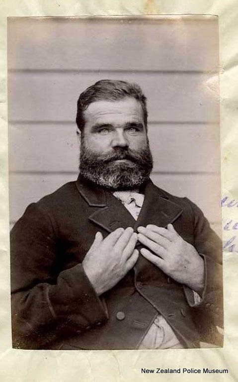 Patrick O'Donnell (b. 1854). Charged with forgery and sentenced to three years in gaol on January 4, 1887.