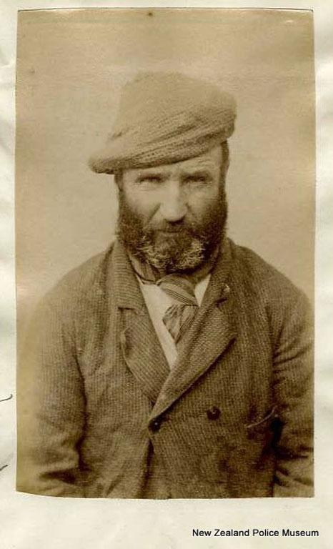 James Kennedy (b. 1843). Charged with larceny and sentenced to 18 months in gaol on April 4, 1888.