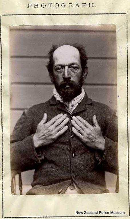 Alfred Langley (b. 1837, England). Charged with illegal gaming and sentenced to one month in gaol on March 20, 1889.