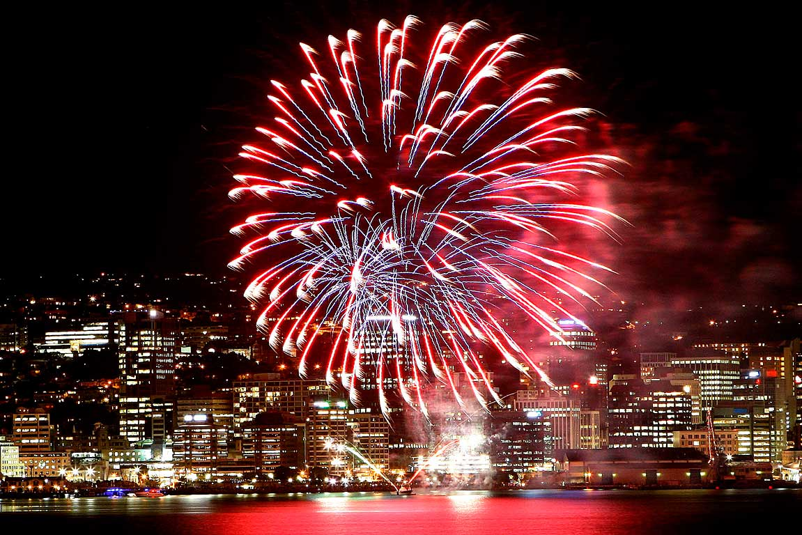 Wellington fireworks