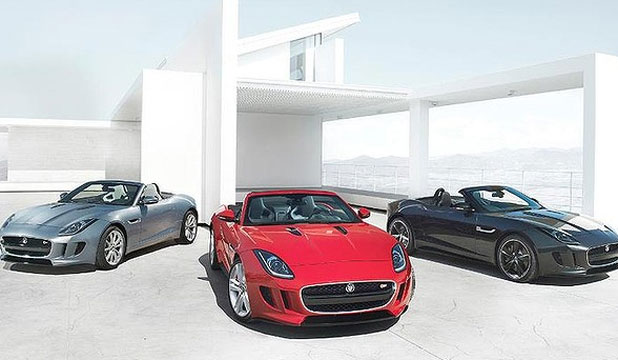 UNVEILED: The new Jaguar F-Type.