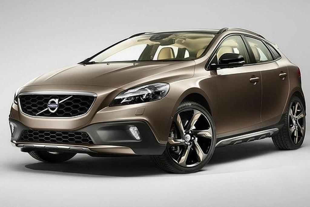The new Volvo V40 Cross Country.