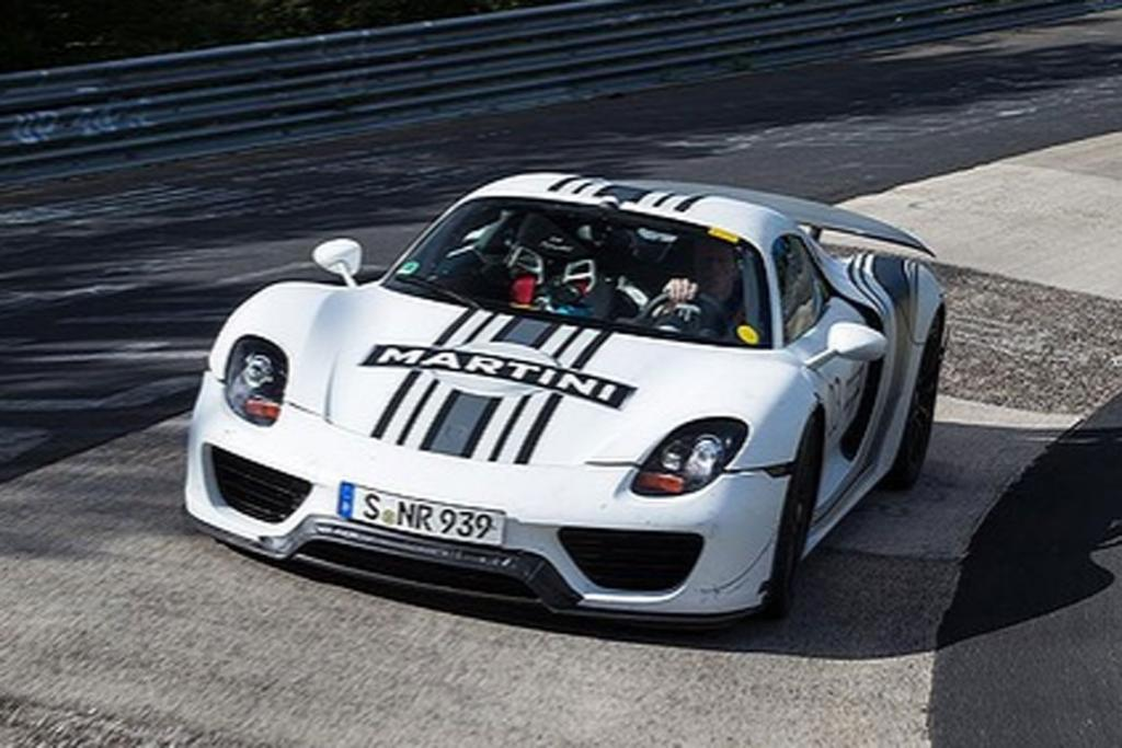 The Porsche 918 hybrid is one of the fastest road cars to lap the infamous Nurburgring.