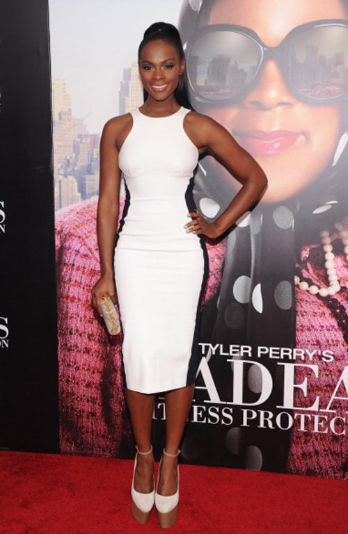 Tika Sumpter in a similar style.