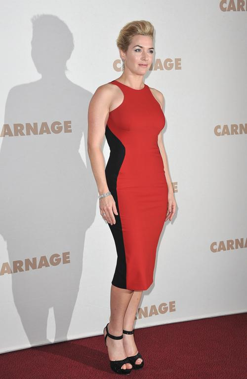 Winslet loves this look so much she has it in several colours...and so can you.