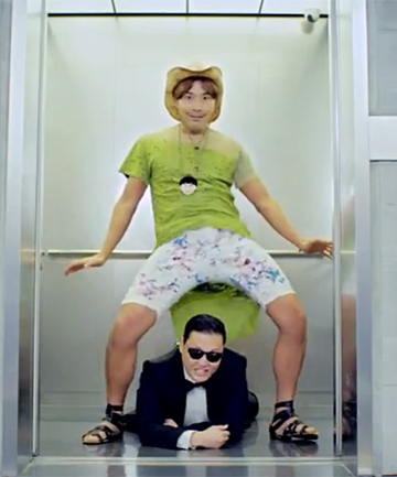 INSPIRATION: North Korea has released their own version of Psy's Gangnam Style