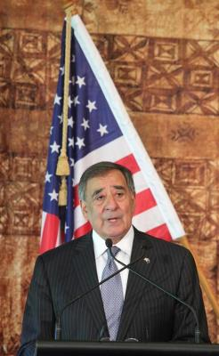 US Secretary of Defence Leon Panetta tour