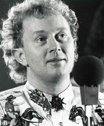 Slice of Heaven composer Dave Dobbyn in 1986.