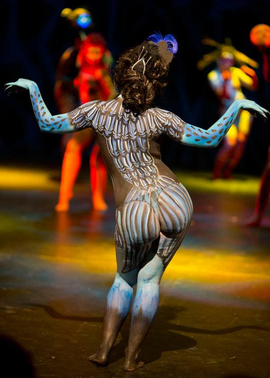 New Zealand Body art competition