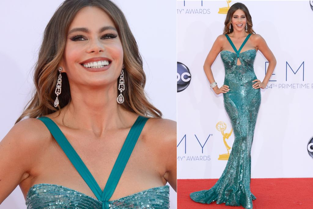 Is Sofia Vergara auditioning for a role in The Little Mermaid? Or maybe The Little Mermaid Goes To Vegas?