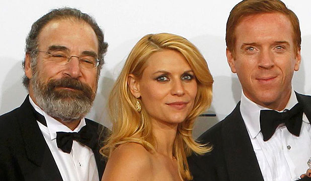 Mandy Patinkin, Claire Danes and Damian Lewis