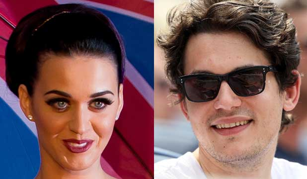 HEADING FOR DISASTER: Womaniser John Mayer and Katy Perry