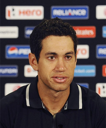 TOP JOB: Black Caps' captain Ross Taylor.