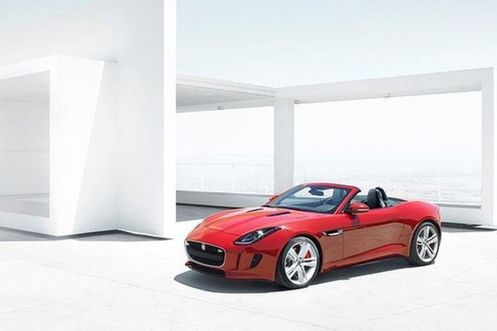 The Jaguar F-Type will be unveiled at the Paris Car Show.