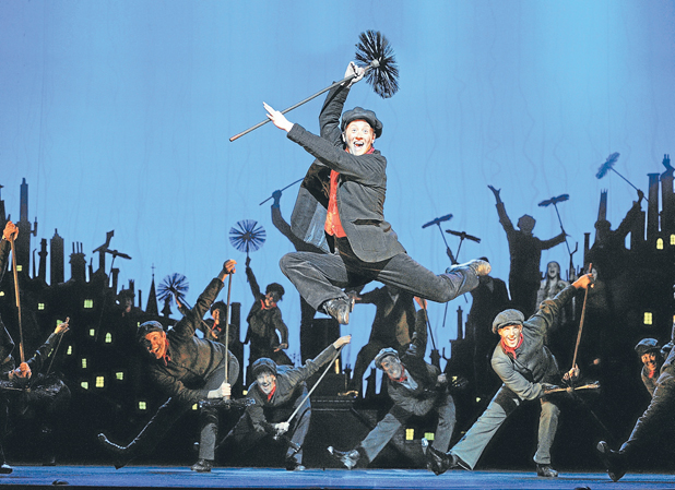 EXPERIENCED: Matt Lee plays Bert in Mary Poppins by Disney and Cameron Mackintosh.