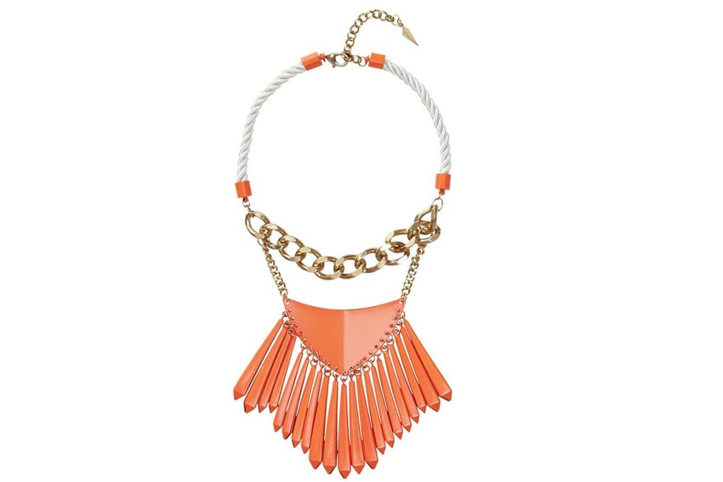 "Sass & Bide necklace. ""This necklace is so stunning, and unlike most of Monday's Picks, some of us can actually buy it. It's $250 from Sass & Bide's online store - and if you can't get to the Auckland store, they now ship directly from Australia to New Zealand."""