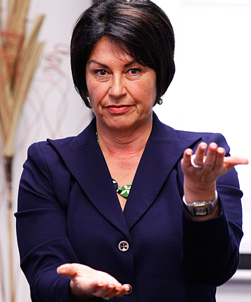 """'BETTER AND BETTER': Education Minister Hekia Parata says National Standards reporting will get """"better and better""""."""