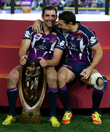 Cameron Smith and Billy Slater
