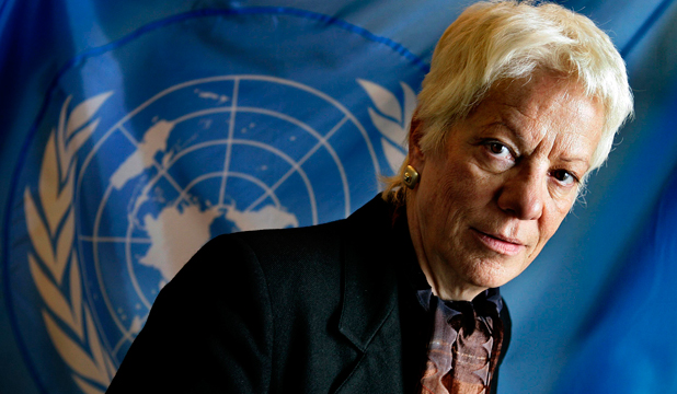 INVESTIGATING: Former UN chief prosecutor Carla del Ponte has joined a commission investigating war crimes in Syria.