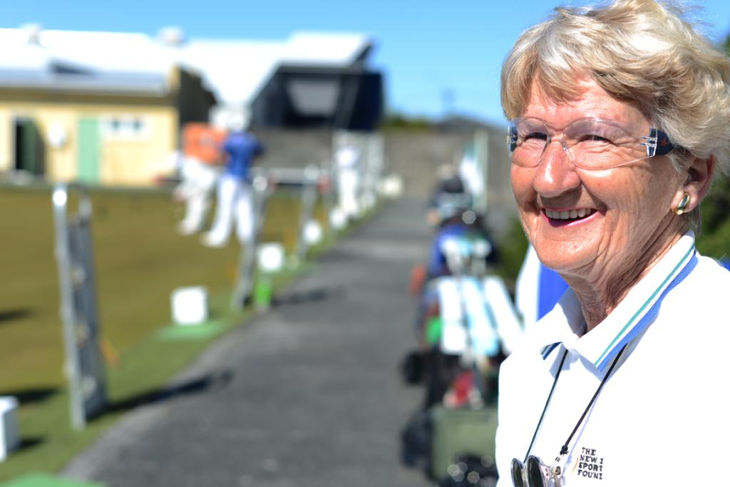 Judy Howal has been playing bowls for 41 years. She initially played at the Wellington Women's Bowling Club, but joined the Park Bowling Club when the two clubs amalgamated.