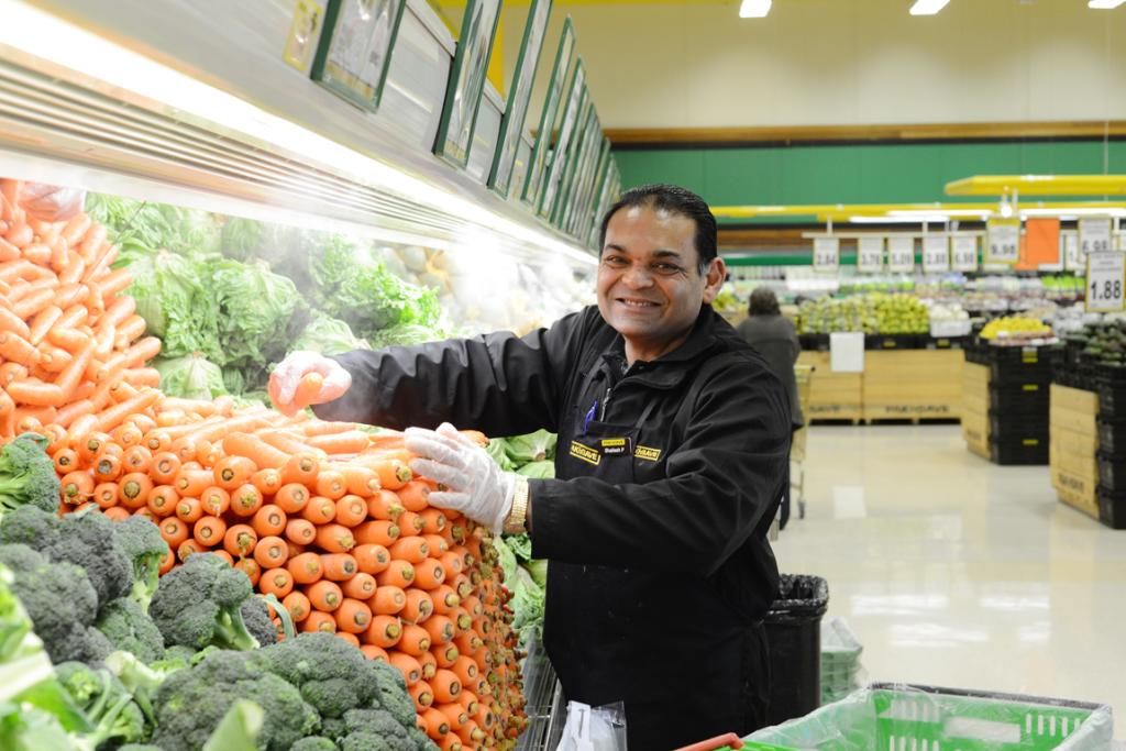 Shailesh Patel has lived in Kilbirnie for 23 years after emigrating from India to New Zealand. He has never left the area and has been employed in his job at Pak 'n save for four years. He said he would never move away from the area.