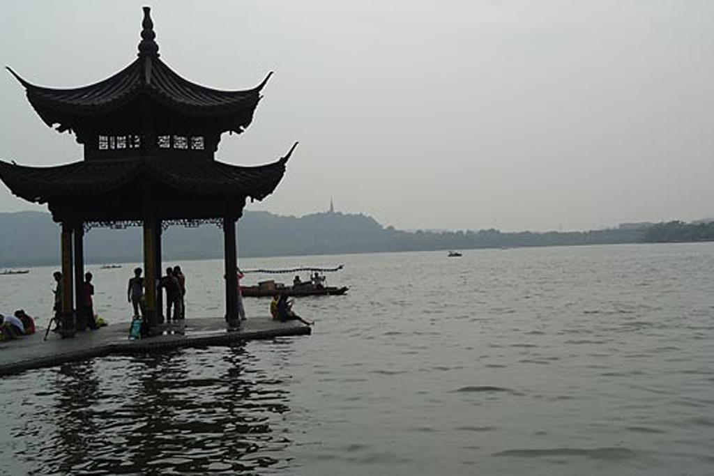 TRANQUIL: Hangzhou, China's, West Lake.