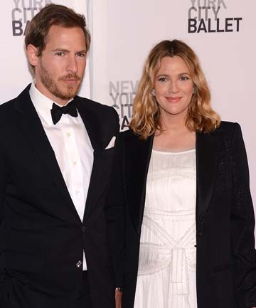 PROUD PARENTS: Drew Barrymore and husband Will Kopelman.