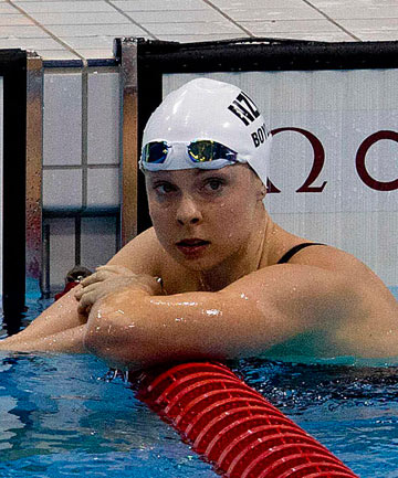Olympian Lauren Boyle was a cut above the pack at last night's short-course swimming championships.