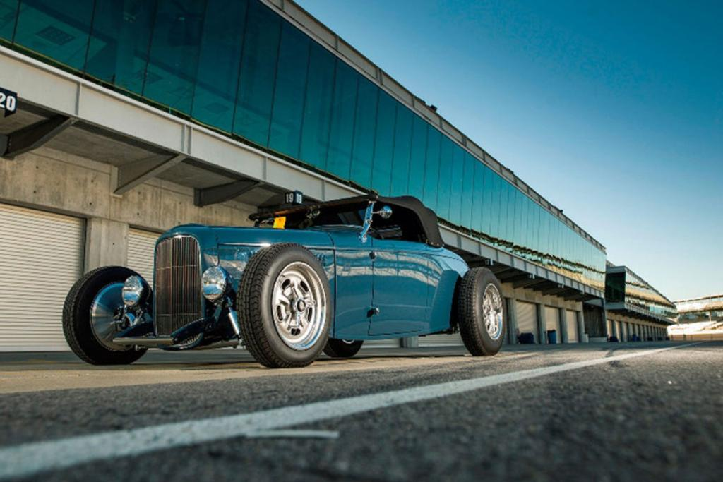 Tom Gloy's 1932 Ford roadster.