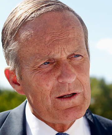 IN THE SPOTLIGHT: US Senate candidate Todd Akin.