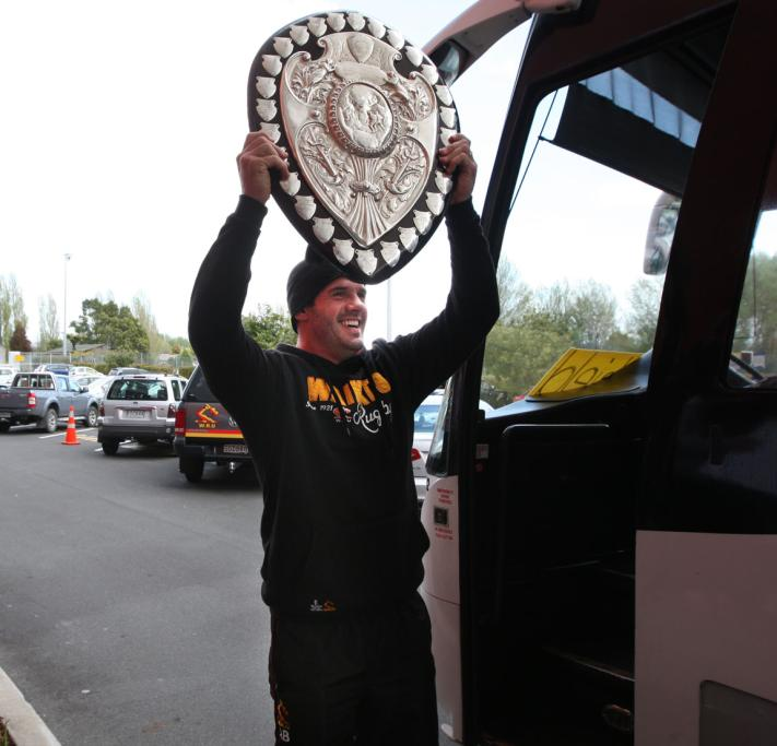 Ranfurly Shield parade
