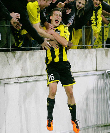 Wellington Phoenix's Louis Fenton