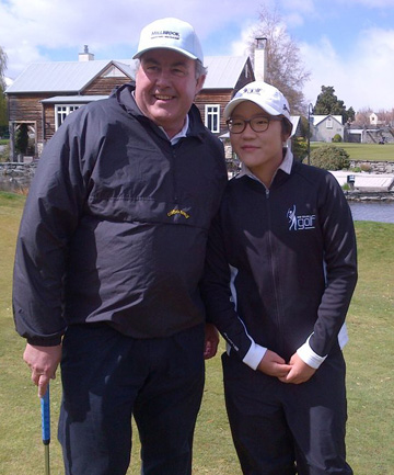 Graeme Todd and Lydia Ko