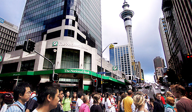 Auckland city centre