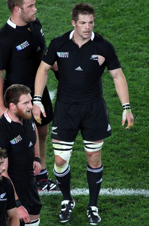Richie McCaw during the 2011 Rugby World Cup.
