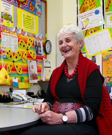 St John Bosco School principal Marie Barrett is retiring