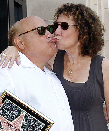 ALL OVER: Danny DeVito and Rhea Perlman are separating after 30 years of marriage.