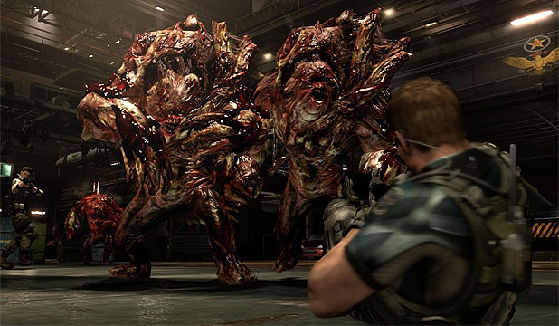 HUNGRY FOR MORE: Resident Evil 6 tries too hard to be everything to everyone.
