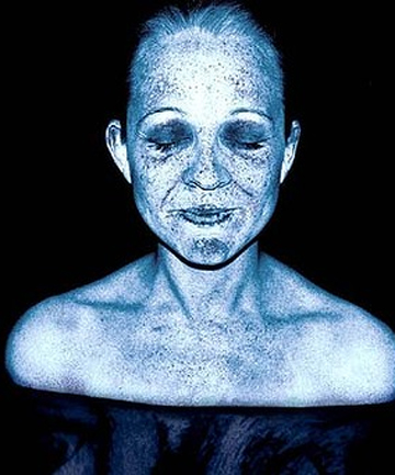 Carrie Bickmore UV scan