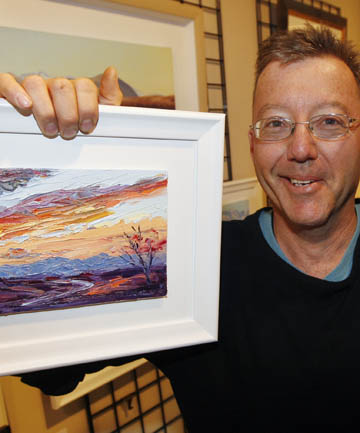 ARTIST: South Canterbury's Wayne Patrick is inspired by the beauty of his surroundings.
