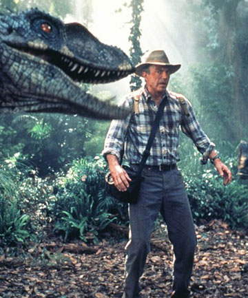 FICTION: Sam Neill blockbuster franchise Jurassic Park was based on a science fiction of dinosaur recreation from DNA found in fossils.