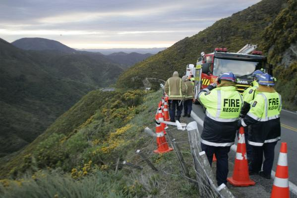 Rimutaka Hill crash