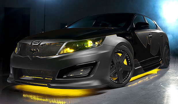 The Batman-inspired Kia Optima.
