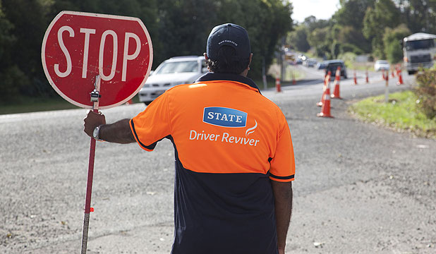 Look for the volunteers and take a break when driving this Labour Weekend.