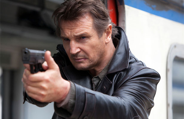 BACK AGAIN: Liam Neeson comes up against more swarthy henchmen